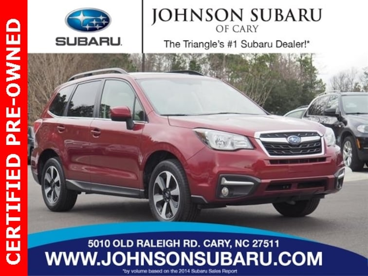 2017 Subaru Forester 2.5i Limited SUV in Cary, NC