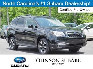Certified Pre-Owned 2018 Subaru Forester 2.5i Limited SUV near Raleigh & Durham, NC