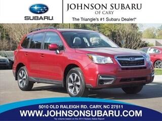 Used 2018 Subaru Forester 2.5i Premium SUV near Durham, NC