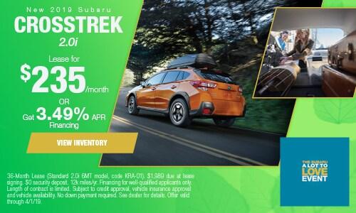 2019 Subaru Crosstrek - March