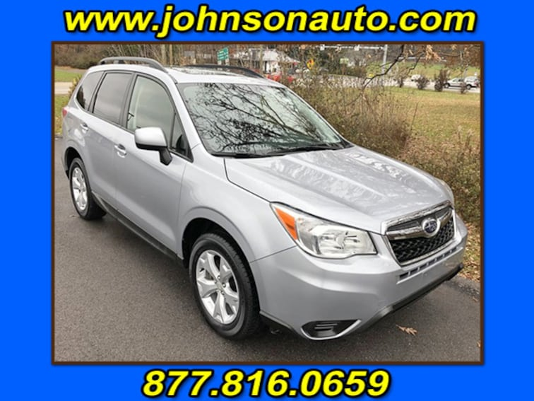 Used 2015 Subaru Forester 2.5i Premium Sport Utility JF2SJAFCXFH479603 in DuBois