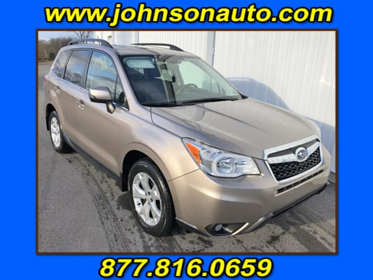 Used 2014 Subaru Forester 2.5i Touring Sport Utility JF2SJAPC9EH543921 in DuBois