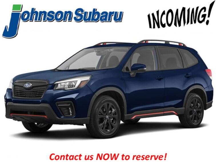 New 2019 Subaru Forester Sport SUV JF2SKAPC6KH506642 for sale/lease in DuBois