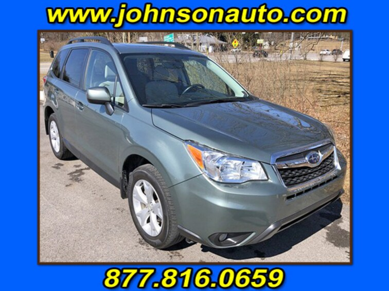 Used 2016 Subaru Forester 2.5i Premium Sport Utility JF2SJADC6GH411089 in DuBois