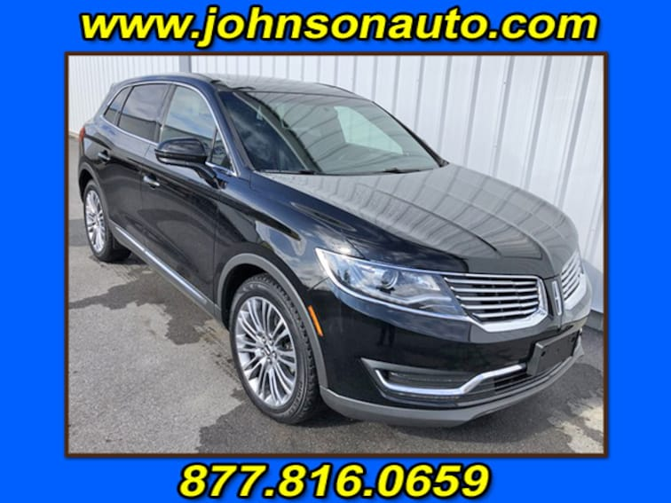 Used 2017 Lincoln MKX Reserve Sport Utility 2LMPJ8LR8HBL29026 in DuBois