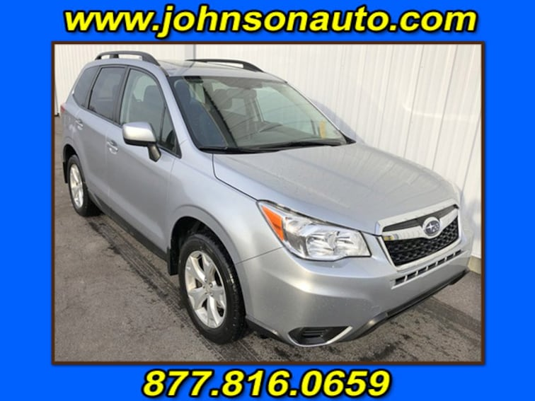 Used 2016 Subaru Forester 2.5i Premium Sport Utility JF2SJADC6GH499111 in DuBois