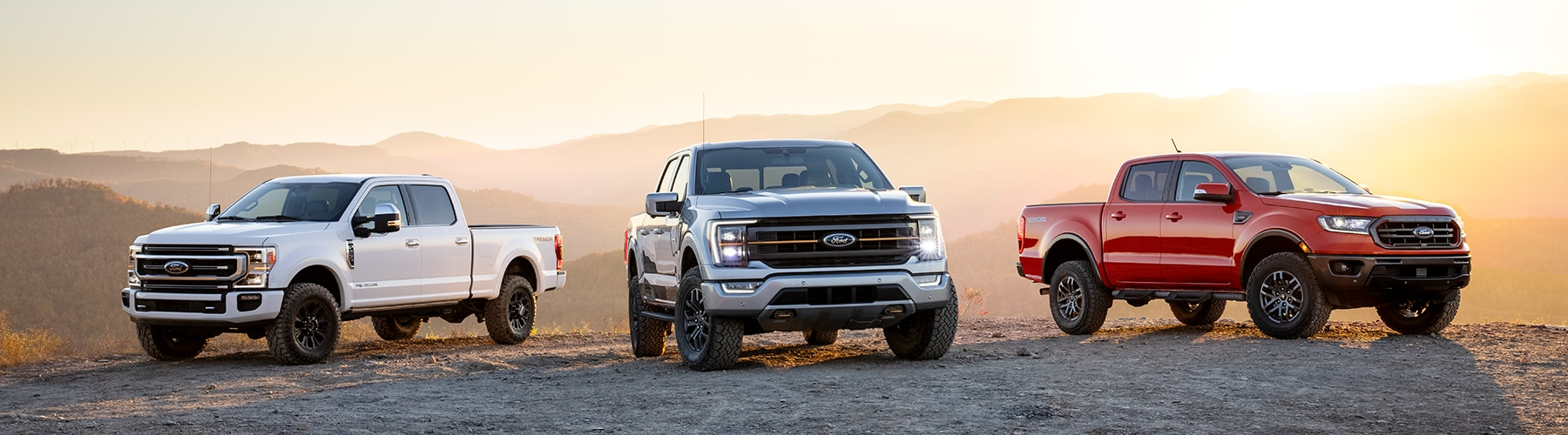 2021 Ford Truck Lineup