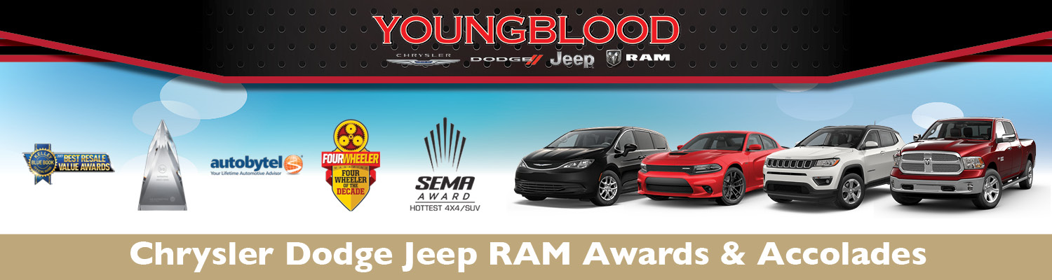 Chrysler, Dodge, Jeep Ram Awards in Ozark, MO | Youngblood CDJR