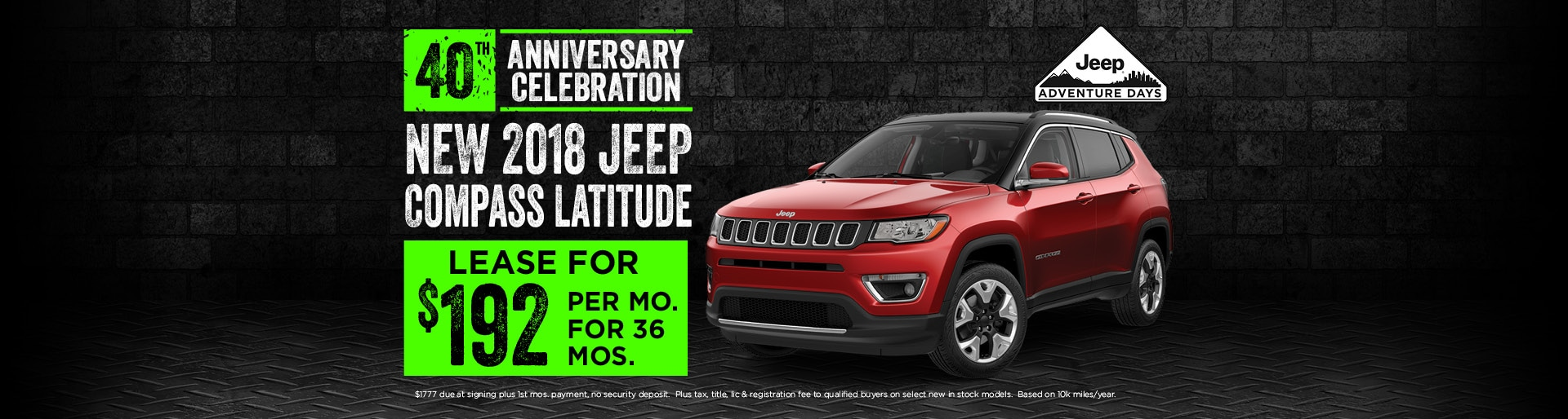 2018 Jeep Compass Lease deals