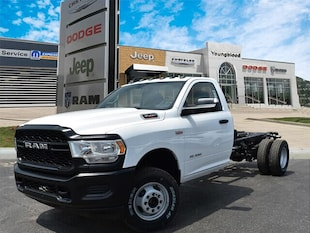 2019 Ram 3500 TRADESMAN CHASSIS REGULAR CAB 4X4 167.5 WB Regular Cab