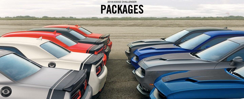 2018 Dodge Challenger Models | V6 vs V8 vs SRT® V8