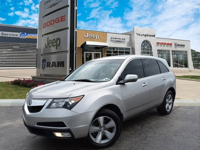 2011 Acura MDX MDX With Technology Package SUV
