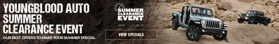 Youngblood Auto Summer Clearance Event