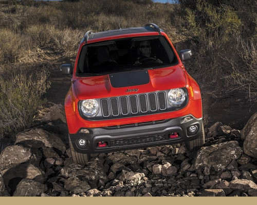 Jeep 4x4 Systems for Medium Off-Roading
