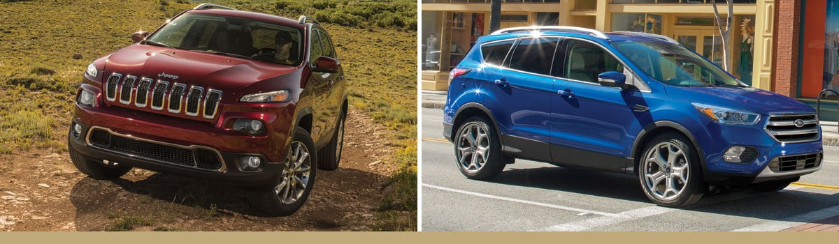 2017 Jeep Cherokee vs 2017 Ford Escape Off Road