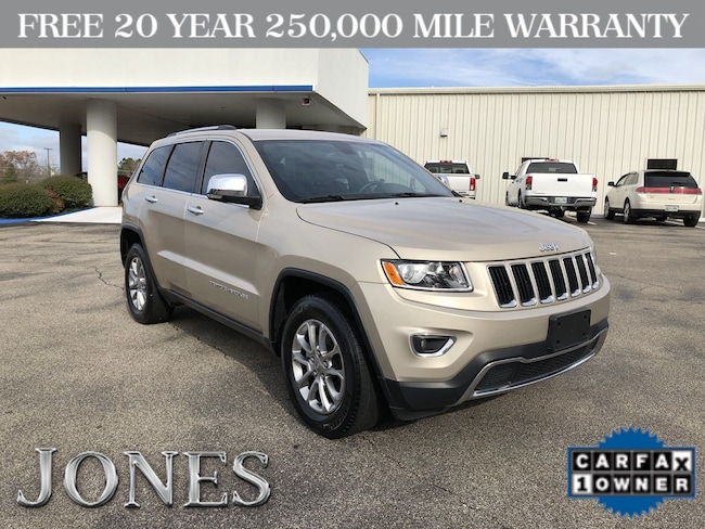 Used 2015 Jeep Grand Cherokee Limited 4x2 SUV in Savannah, TN