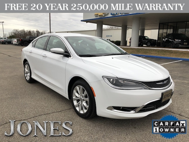 Used 2015 Chrysler 200 C Sedan in Savannah, TN