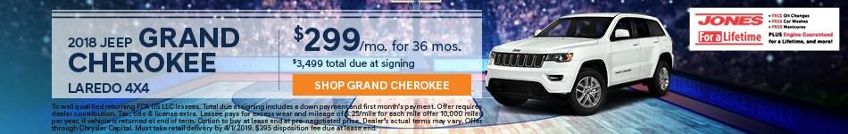March | 2019 Grand Cherokee