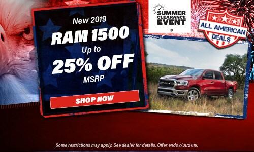 July | 2019 Ram 1500