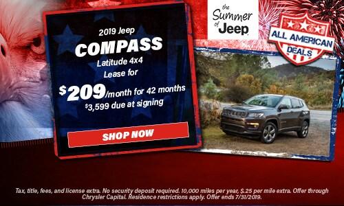 July | 2019 Jeep Compass