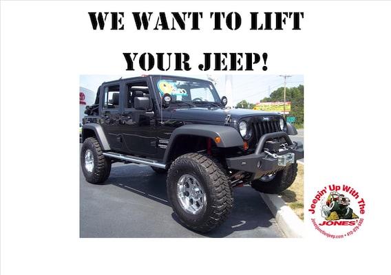 Lift-Kit Warranty | Jones Chrysler Jeep Dodge