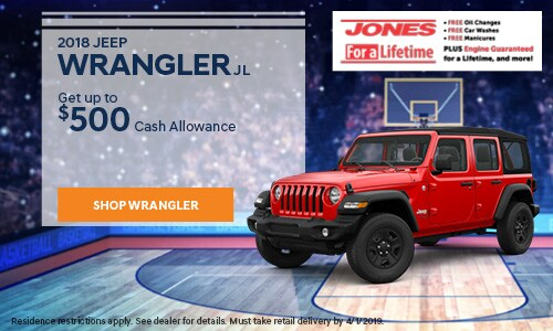 March | 2018 Wrangler