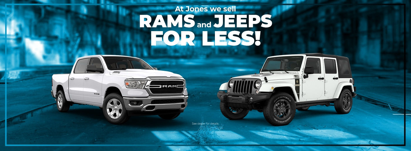 Jones Chrysler Dodge Jeep Ram Dealer Middle River Towson