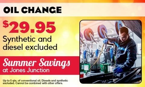 July   Oil Change