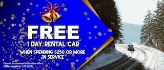 FREE 1 DAY CAR RENTAL