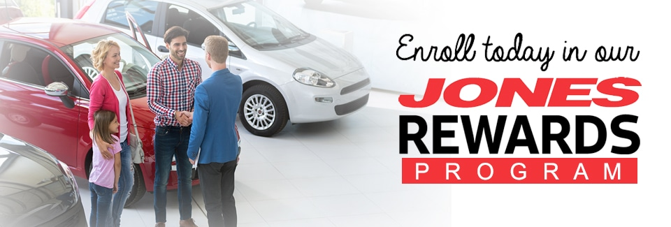 Enroll in Jones Rewards Today