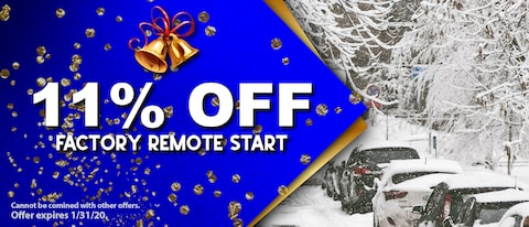 11% OFF FACTORY REMOTE START