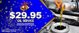 $29.95 OIL SERVICE