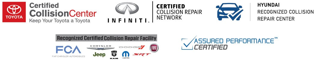 certifications include toyota, fca and more