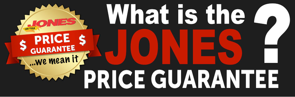Jones Price Guarantee