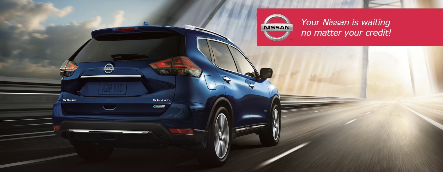 your Nissan is waiting no matter your credit