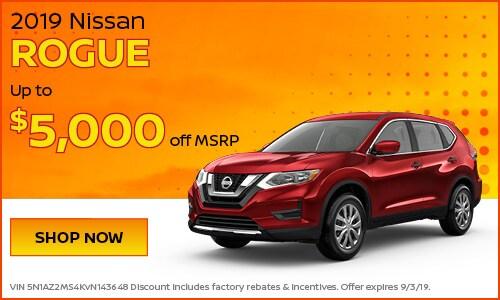 August | 2019 Nissan Rogue