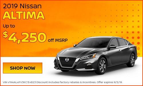 August | 2019 Nissan Altima