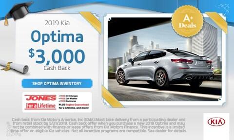 May   2019 Kia Optima