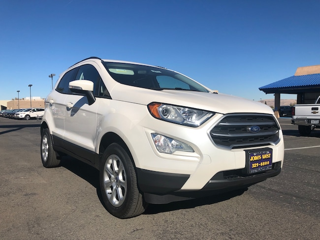New 2018 Ford EcoSport SE Crossover for sale in Reno, NV