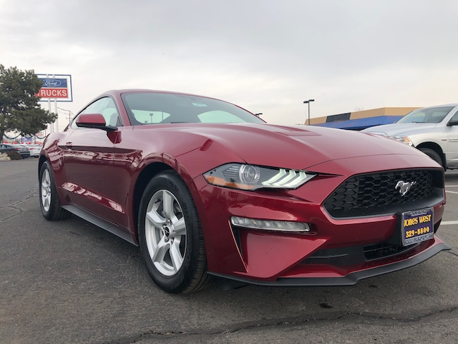 New 2019 Ford Mustang Ecoboost Coupe for sale in Reno, NV