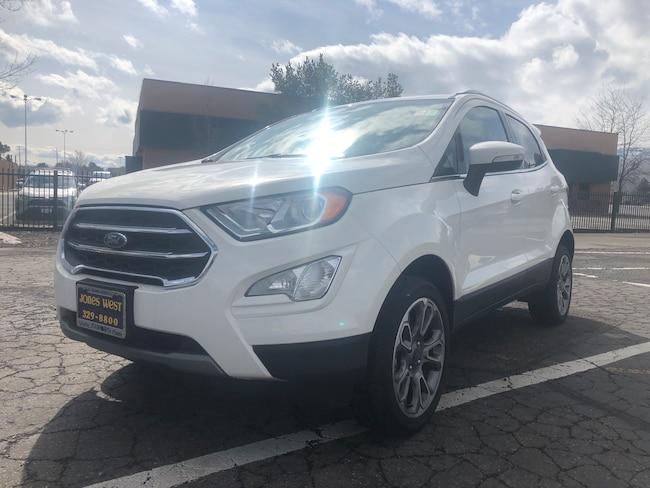 Used  2018 Ford EcoSport Titanium SUV for sale in Reno, NV