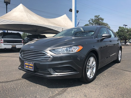 Featured New 2018 Ford Fusion SE Sedan for Sale in Reno, NV