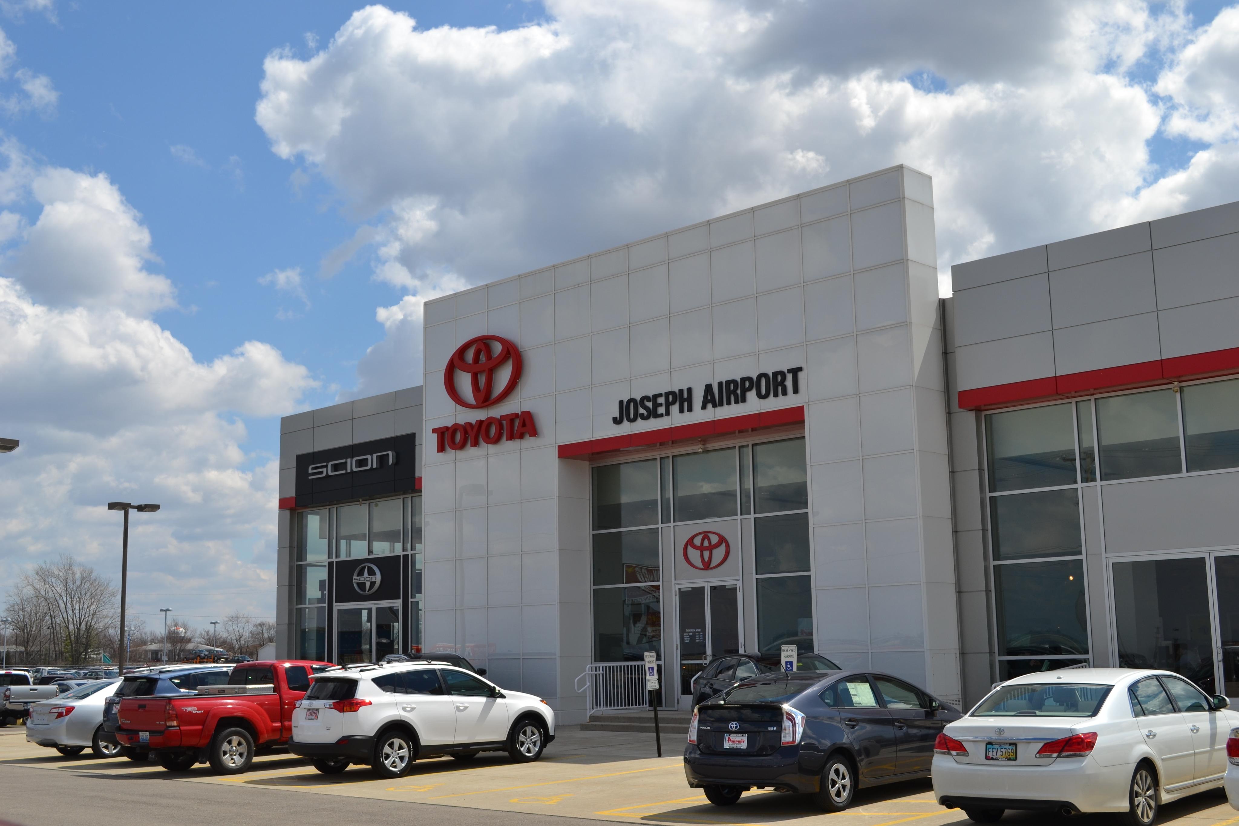 Toyota Dealership Dayton Ohio >> About Joseph Airport Toyota near Dayton, OH