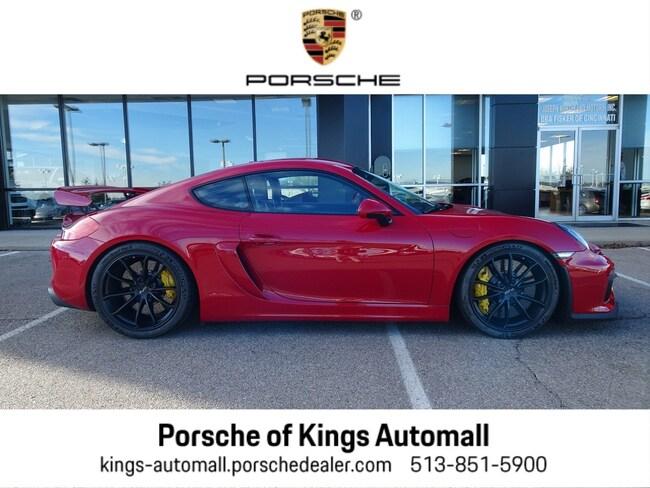 Certified Pre-Owned 2016 Porsche Cayman GT4 Coupe Cincinnati