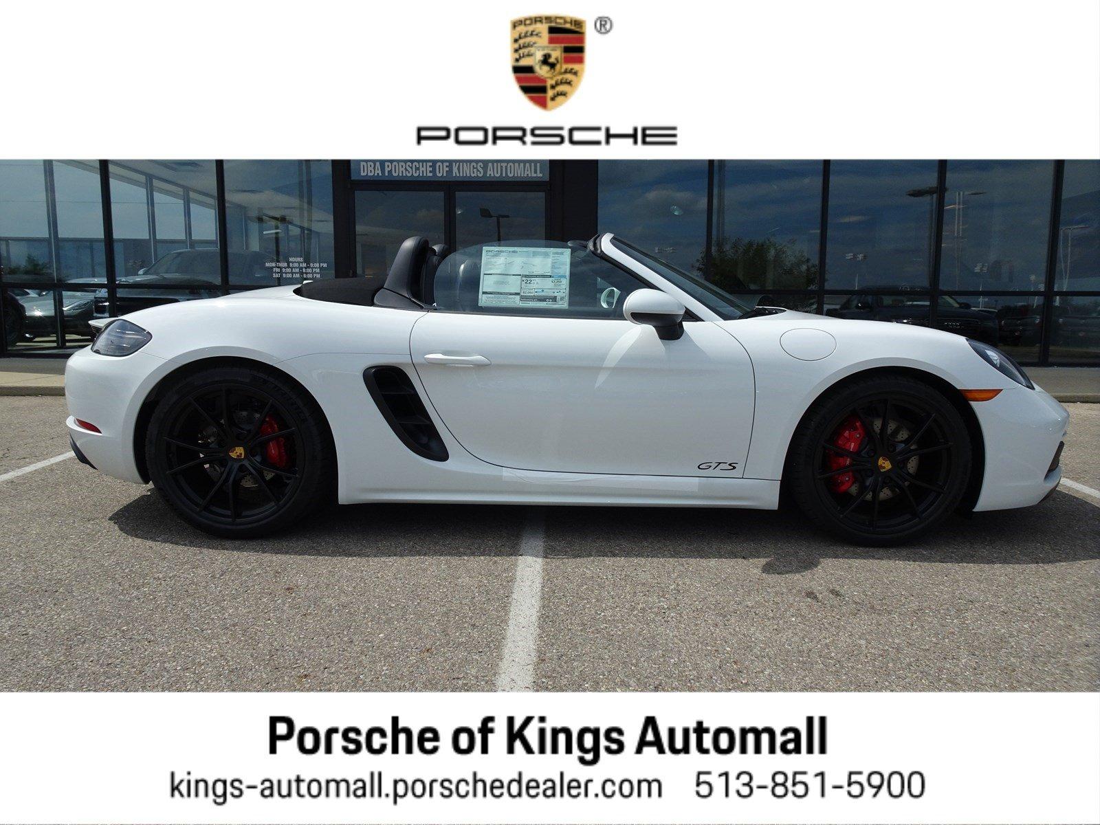 2019 Porsche 718 Boxster Cabriolet
