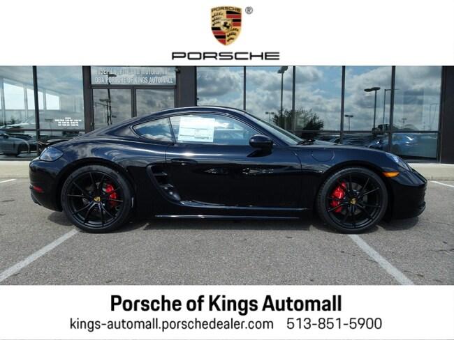 New 2018 Porsche 718 Cayman GTS Coupe Cincinnati