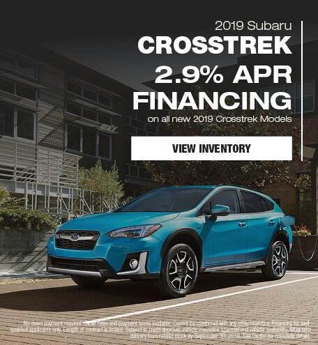 New 2019 Subaru Crosstrek - September