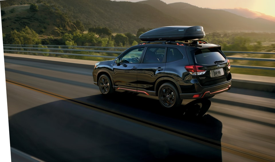 Subaru Forester on  highway