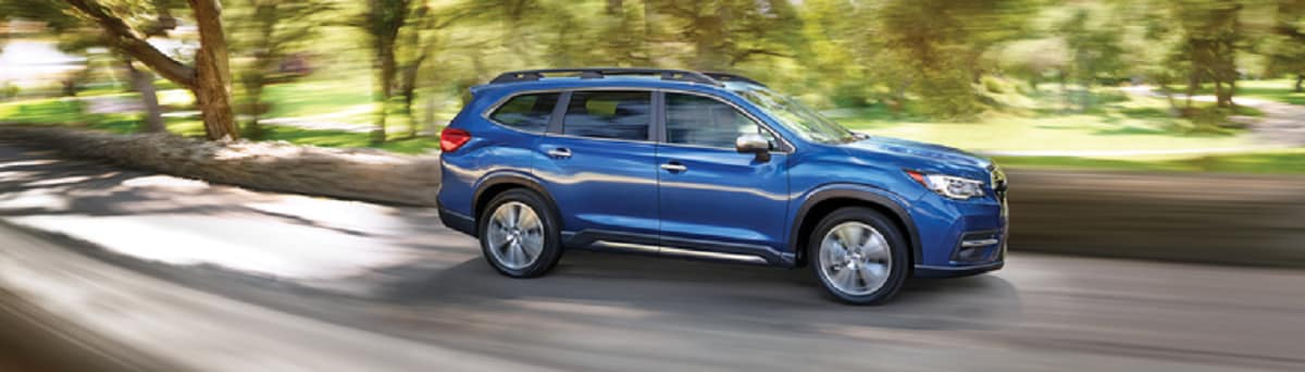 2019 Subaru Ascent on the road