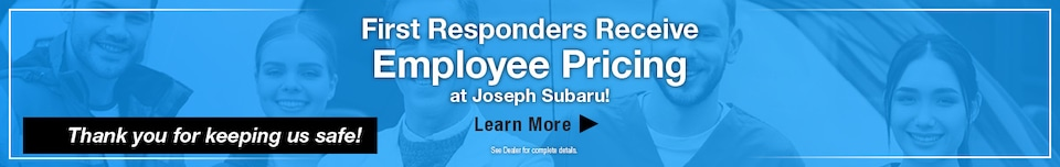 First Responder Employee Pricing - May